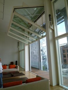 glass garage door as wall - Google Search