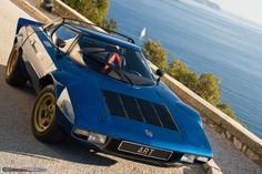 Lancia Stratos - mid engine world rally champion. Lancia Delta, Turin, Fiat Abarth, Rally Car, Hot Cars, Car Pictures, Exotic Cars, Cars Motorcycles, Vintage Cars