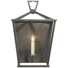 Wall Sconce Lighting, Home Lighting, Candle Sconces, Wall Sconces, Lighting Design, Lighting Ideas, Visual Comfort Lighting, Lantern Designs, Wall Lights