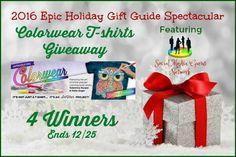 Colorwear T-Shirt Giveaway! US 12/25