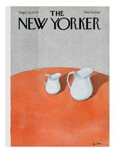 The New Yorker Cover - September 10, 1979 Premium Giclee Print