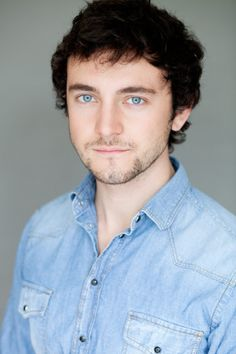 George Blagden - Blue eyes and dark hair. Most attractive combination ever!!