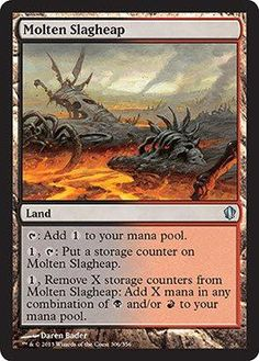 Magic: the Gathering - Molten Slagheap (314/356) - Commander 2013