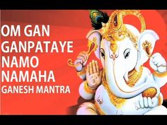 Full Ganesh Namavali With Lyrics | 108 Names of Ganpati | गणेश नामावली | Popular Ganpati Stuti - YouTube