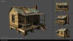 "Making Of ""The Old House (environment)"" — Компьютерная графика и анимация — Render.ru"