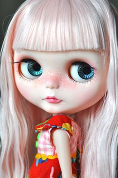 Let the Hair Down! *Cherry Button** by ♥ Elly Jelly ♥, via Flickr