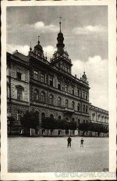 Town Hall Strakonice Czech Republic Eastern Europe
