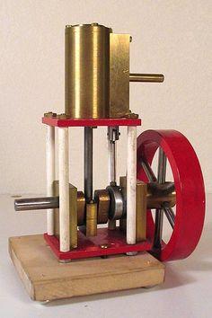 Aquarium Pump, Metal Working Tools, Lathe Projects, Steam Engine, Boiler, Engineering, Pop, Live, Model