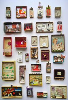 Best Shadow Box Ideas You Did Not Know About military shadow box ideas Shadow box ideas (memory box ideas) Tags: Shadow Box Ideas diy, Shadow Box Ideas baby, Shadow Box Ideas memorial, military Shadow Box Kunst, Shadow Box Art, Matchbox Crafts, Matchbox Art, Art Altéré, Paper Art, Paper Crafts, Art Diy, Tin Art