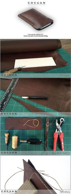 Making of – iPhone 5 leather cover | COCUAN