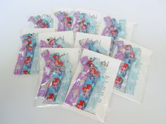 Ariel Inspired Birthday Party Pack x10 Guests by EnchantedHairTies