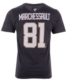 3234b8d69 Majestic Men Jonathan Marchessault Vegas Golden Knights Authentic Stack  Name   Number T-Shirt