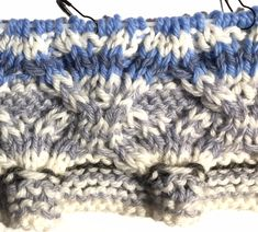 "Free Pattern of ""Daily Sky Scarf"""