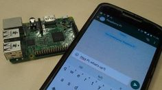 How to control a Raspberry Pi using WhatsApp