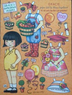 MARY ENGELBREIT Paper Doll, Gracie, June/July 2005, Uncut Home Companion Mag. • $4.50 - PicClick