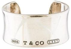 This is lovely and very affordable! Tiffany & Co. 1837 Cuff Bracelet #Gift #Bracelet #Jewelry #Tiffany #Afflink