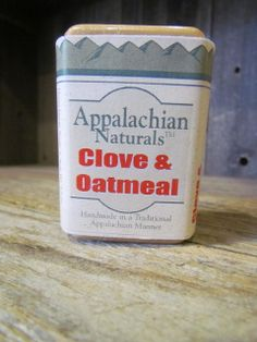 Appalachian Naturals - Clove and Oatmeal Natural Soap, $5.95 (http://www.appalachiannaturalsoap.com/clove-and-oatmeal/)
