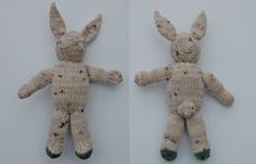 Anleitung: Hase stricken Knitted Bunnies, Peter Rabbit And Friends, Before Baby, Bunny Rabbit, Knit Crochet, Knitting Patterns, Dinosaur Stuffed Animal, Old Things, Creative