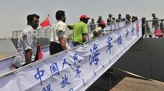 http://pronewsonline.com Non-Chinese citizens board a Chinese navy ship during an evacuation from Aden on Thursday China has said it helped 10 countries evacuate 225 of their citizens from Yemen, where Iran-allied rebels have seized the two main cities.