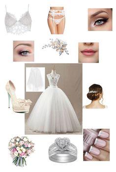 """wedding part1"" by daisydurnell on Polyvore featuring Jon Richard, Betsey Johnson, Philippa Craddock, Rime Arodaky and For Love & Lemons"