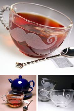 The best part? The adorable teapot topped spoon! <3<3<3
