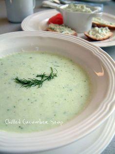 胡瓜の冷スープ