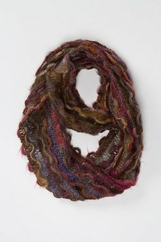 Apricity Curl Loop. Colors, Texture.  Anthropologie.  My new fave fall scarf.
