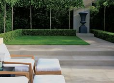 Cromwell sawn yorkstone by Stonemarket. I used this lovely paving in a tiny garden I designed in Chelsea.