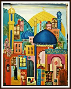 Iraqi artist, Rasha kherr eldeen