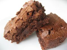 Baked brownies, los mejores y mas ricos brownies Love Chocolate, Chocolate Brownies, Sweet Bakery, Recipe Images, Sweet Recipes, Sweet Treats, Good Food, Food And Drink, Cooking Recipes