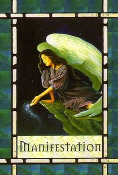You have manifested new opportunities and abundance. Know that you can experience these gifts right now.. (http://www.freeangelcardreadingsonline.com/2012/manifestation/)