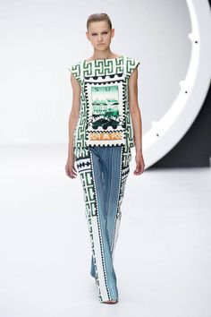 Mary Katrantzou Spring 2013 Ready-to-Wear Collection