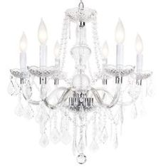 My darling husband just bought this gorgeous #chandelier for our dining room. LOVE!! from home depot.