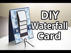 DIY Waterfall Card ~ 700 Subscriber Milestone Video - YouTube