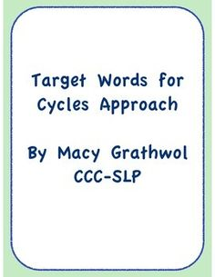 A+word+list+to+use+for+Cycles+approach.+Contains+order+of+phonological+patterns+and+4+target+words+per+pattern.