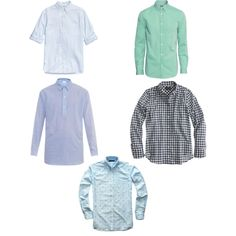Formal shirts For Self Employed by kapoorvinnie on Polyvore featuring polyvore, fashion, style, J.Crew and Raey