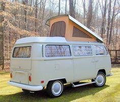 perfect combo - camping VW van!