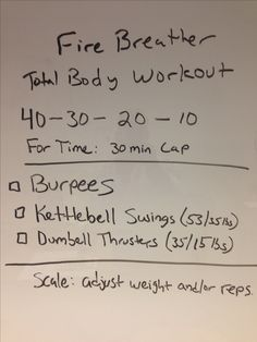 Total body workout. Great home workout. #fitness, #crossfit