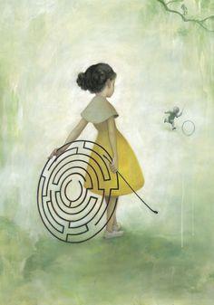 Maze - James Jean