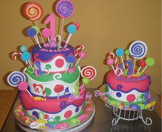 CANDYLAND CAKE by Brunilda06, via Flickr