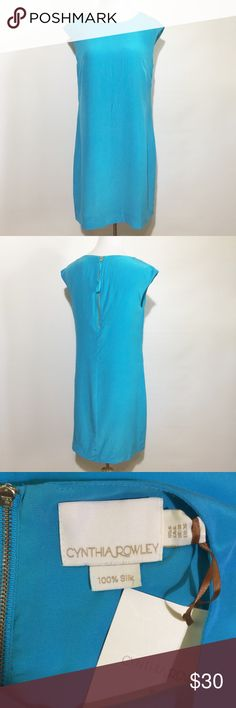 """Cynthia Rowley Silk Dress New with tags. Fully lined. Approximately 32"""" long. Cynthia Rowley Dresses Midi"""