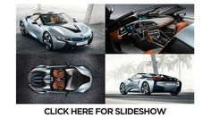 "BMW i8 concept car - who says a hybrid has to be ""ugly?"""