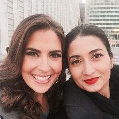 """Quick snap of the beautiful @jessicaabotv & I outside of the UN after speaking at the @speakupwomencon this weekend. I learned so much about bouncing back and finding your voice from these wise women. Here are a few of my favorite quotes: """"Everything we do and say is a message about our lives and the way we live it.  So what is the story you're telling yourself? What is the story you're writing? Is it a good one? Would you want to read it?  Use your words and use this day. Let it be a…"""