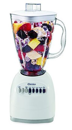 The 6640 Oster Cube Blender, with its 10 speed settings and powerful motor will satisfy all your blending needs. The Osterizer blender motor is designed to last over longer than the leading competitive blender (based on average motor lifecycle testing). Juicer For Sale, Kitchen Blenders, Hand Held Blender, Smoothie Blender, Clean Smoothie, Smoothies, Professional Blender, Home Espresso Machine, Electric Juicer