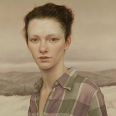 One of my favorite portrait paintings by Lu Cong