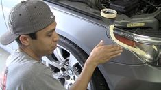 How do professionals get a clean paint job on cars? They mask it over with tape and paper. Learn how to cover a car for painting in this DIY automotive lesson.