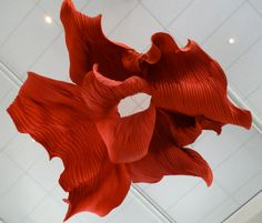 Peter Gentenaar, paper sculpture   Toreador 4  2012 3.5 x 4 meter