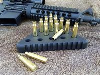 Amazing AR-15 style tactical Triangle Peg Game.  Makes an awesome gift for hunters, gun enthusiasts, or anyone who enjoys unique handmade tactical gifts.