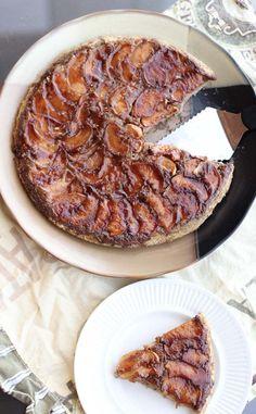 apple tarte tatin - gluten free!
