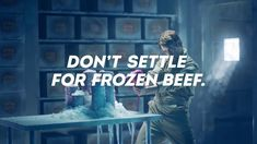 """Wendy's 2017 Fresh Beef Commercial """"Cold Storage"""""""